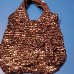 Bueno sequined bag